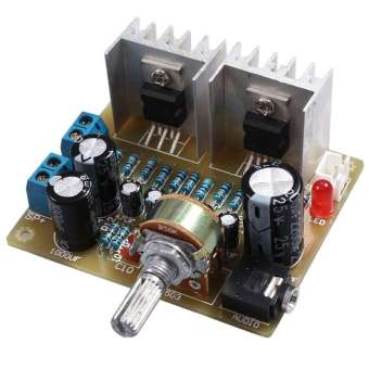 Dual Channel TDA2030A Power Amplifier DIY Kit for Arduino-