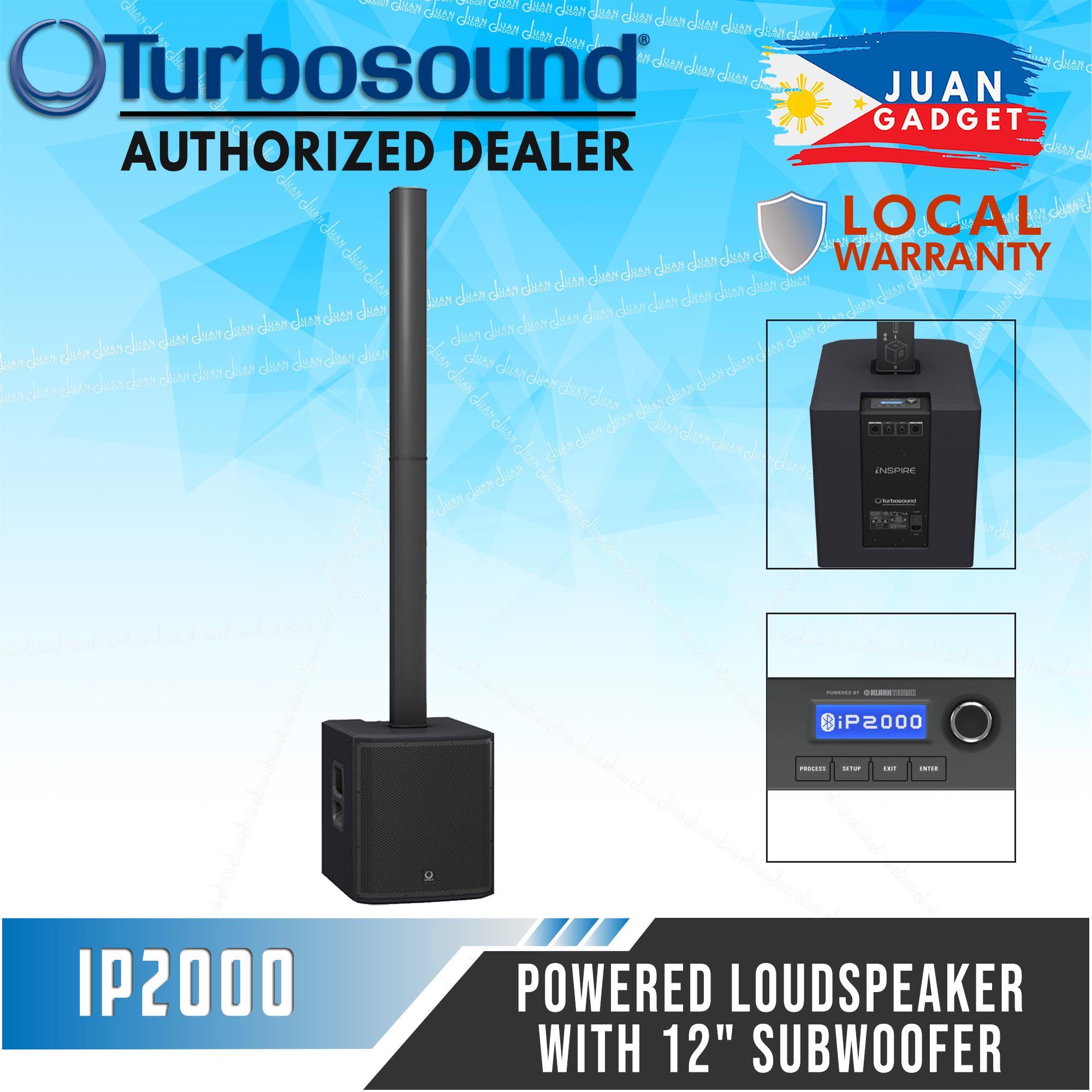 Turbosound iNSPIRE iP2000 - Powered Column Loudspeaker with 12