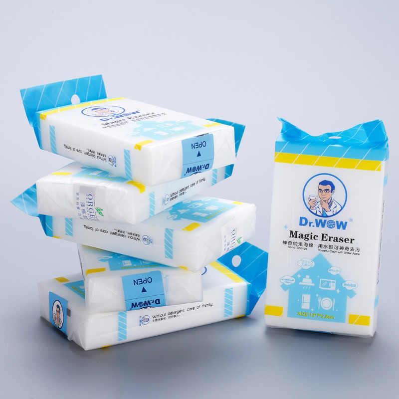 5 Pcs Melamine Sponge Magic Sponge Eraser Melamine Cleaner Eco Friendly White Kitchen Magic Eraser Lazada Ph