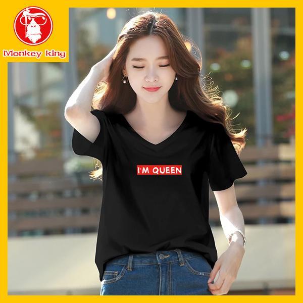 15159ebfb9fdb  Monkey King V neck T-shirt for Womens on sale Tees Tops Unisex