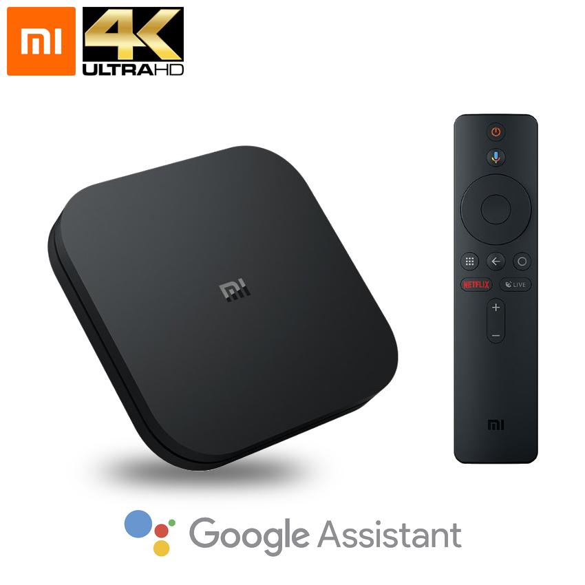 Xiaomi Mi TV Box S 4K Ultra HD Streaming Media Player Wi-Fi Bluetooth 4.2