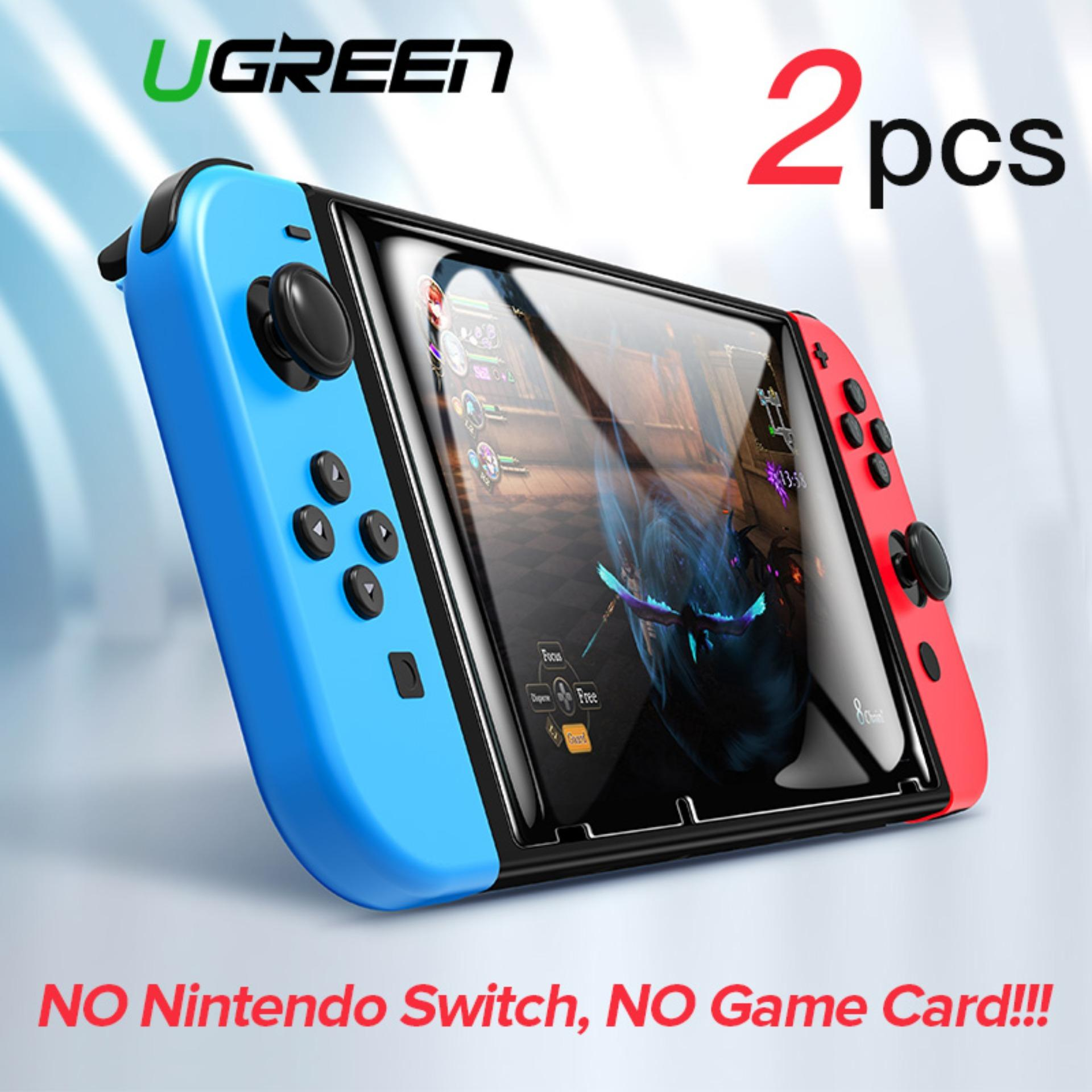 UGRREN 2PCS Screen Protector for Nintendo Switch Premium Tempered Glass  Screen Protector Film for Nintendo Switch 9H Hardness with Install Tools