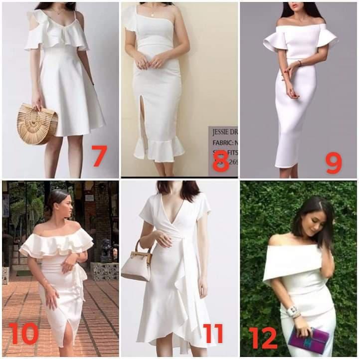 Seller Trending white Dresses | Lazada PH
