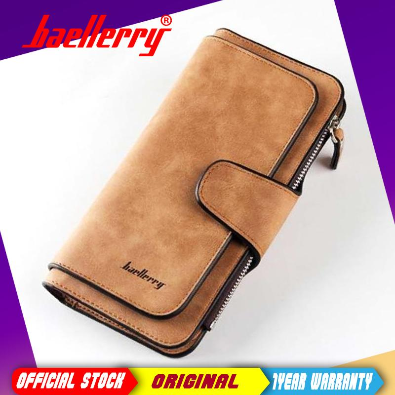 Baellerry brand Female wallets High quality 3 fold Wallet Women Long Style lady Purses Capacity Clutch