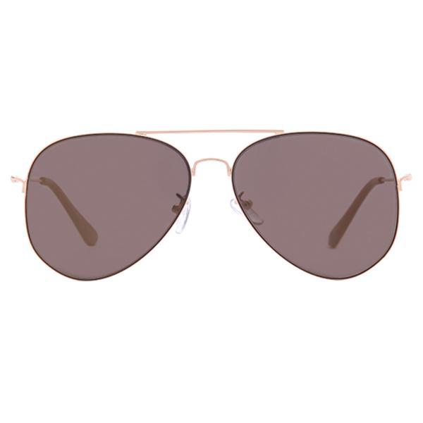 55dfc8f854d Sunnies Studios Dixon Pilot Sunglasses for Men and Women (Gold Mirror)