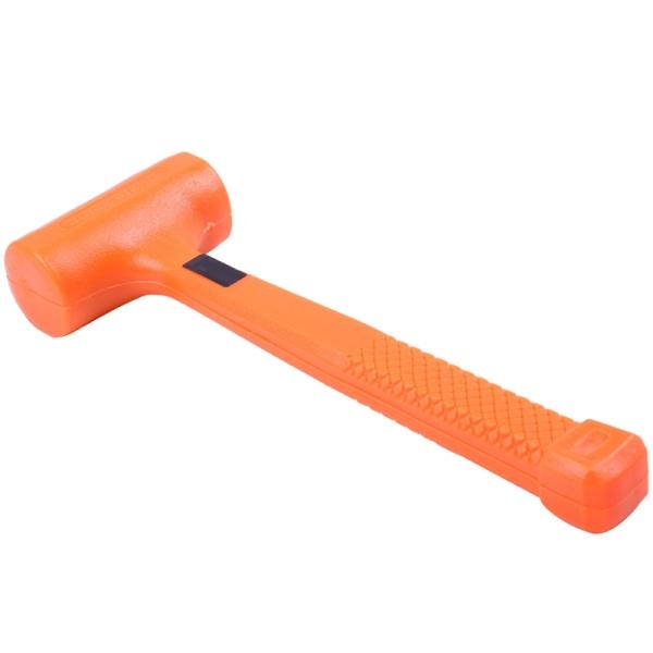 Dead Blow Mallet Orange Soft Rubber Unicast Hammer