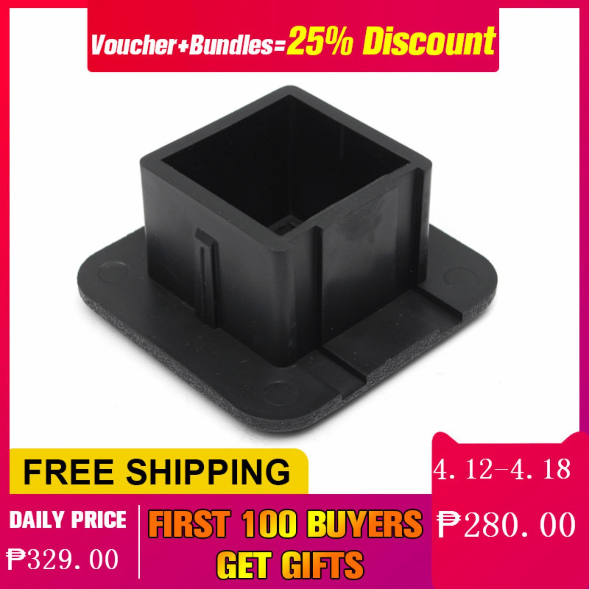 1 Pcs 2inch Hitch Receiver Cover Tralier Hauling Towing Cover Black Rubber  Square
