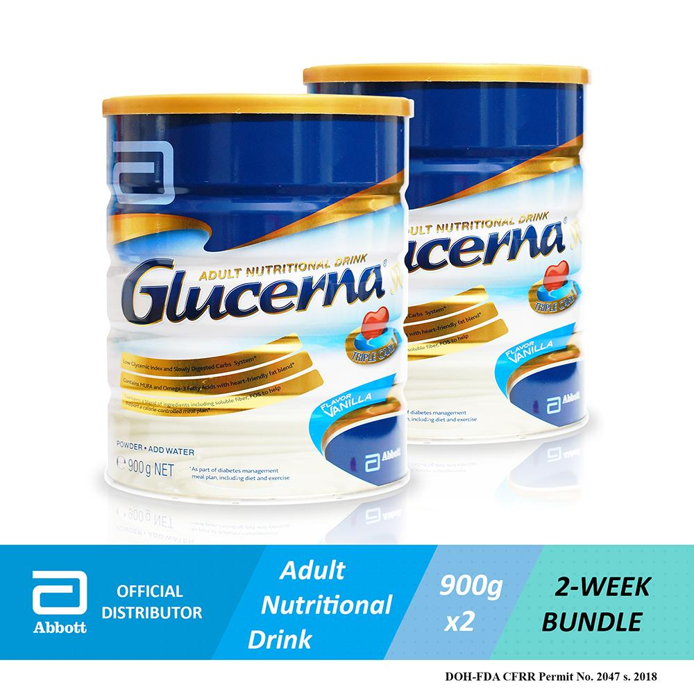 Abbott Glucerna Sr 900g (bundle Of 2) By Abbott Official Online Store By Acommerce Ph.