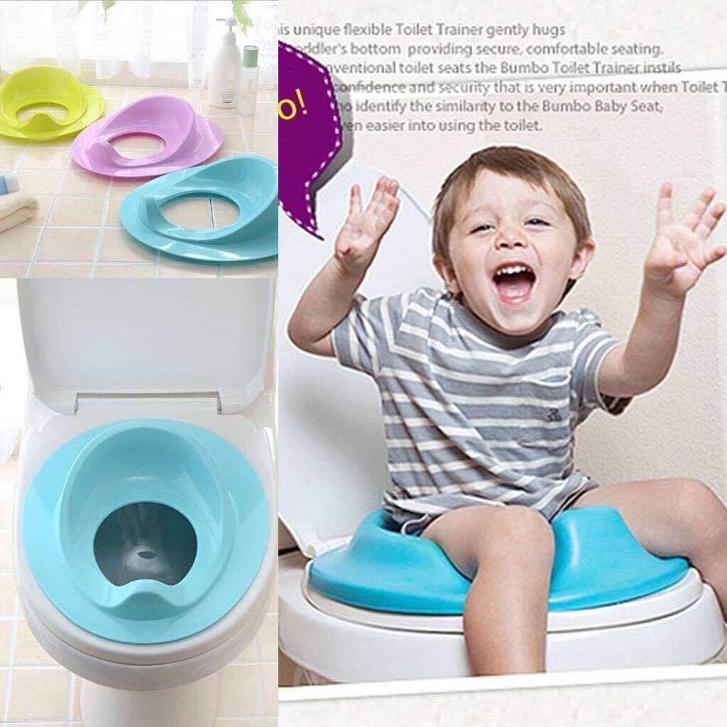 18a53893e17 blue Bathroom Toilet Seat Potty Training Kids Baby Toddler Potty Seat  Cushion