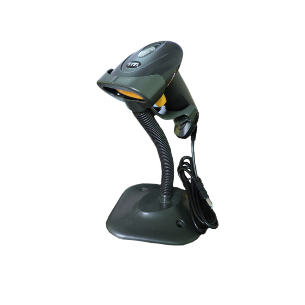 Giá Barcode Scanner Handheld Scanner with Stand Holder Automatic Bar Code Reader Auto Scanning POS Scan for Inventory