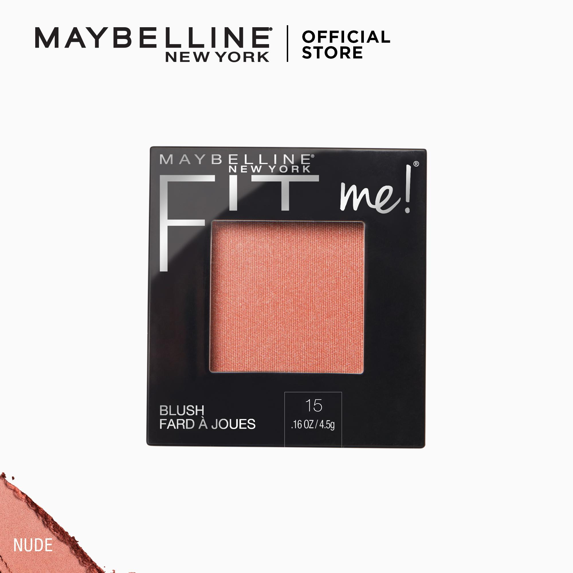 Fit Me All-Day Natural Lightweight Blush By Maybelline By Maybelline