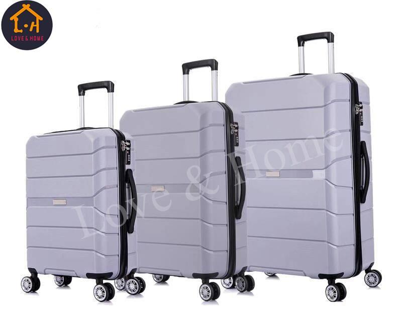 e1f087936822 LOVE&HOME 3 Piece Travel Suitcase Set FREE 1 PC Belt Luggage Combination  Lock (Random Color)