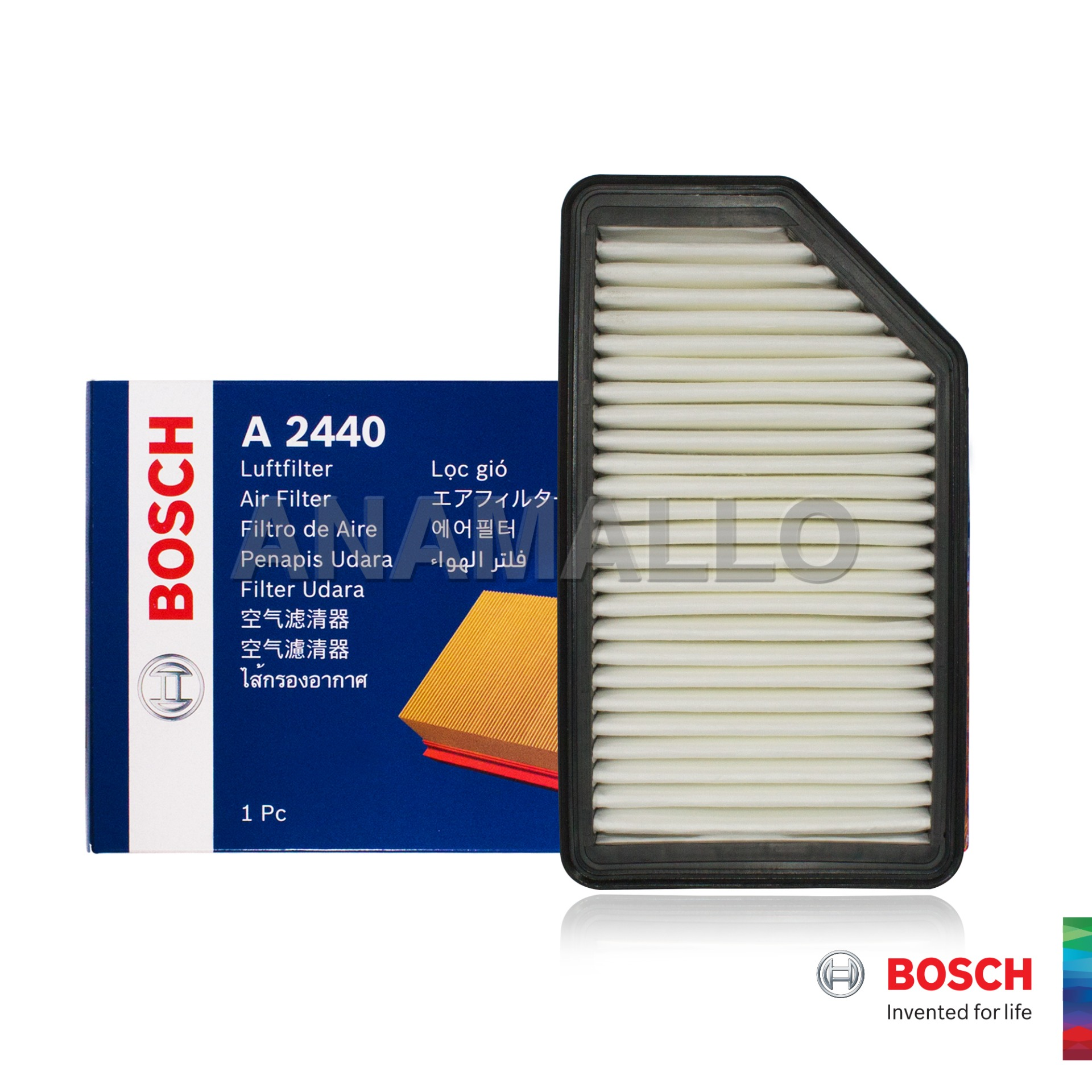 Fits KIA SOUL Authentique Bosch Filtre à Air Insert