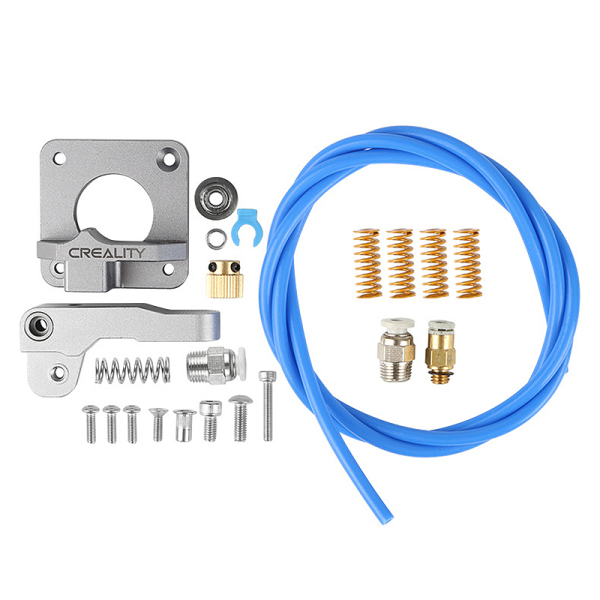Giá Extruder for 3D Printer Ender 3/3 Pro / 5 CR-10 / MK8 Bowden 1.75mm + Spring Pneumatic Joint Kit Accessories Extruder Frame