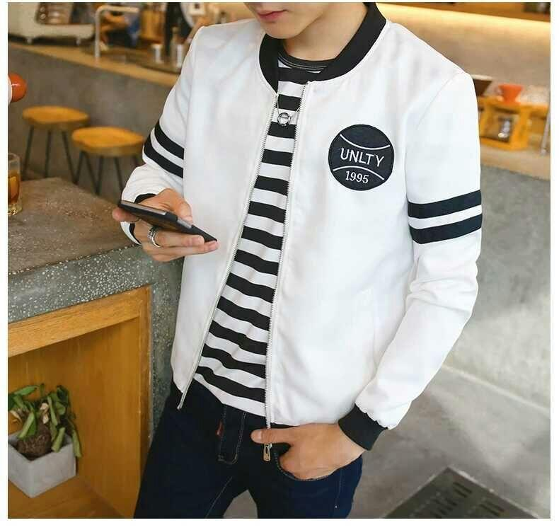9660eb8e9 LESO High quality jacket Men Korean style baseball jacket-J36