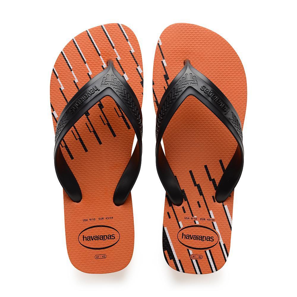 official photos 647d9 9823d Havaianas Top Max Basic Flip Flops Mens (Neon Orange) - 41/42