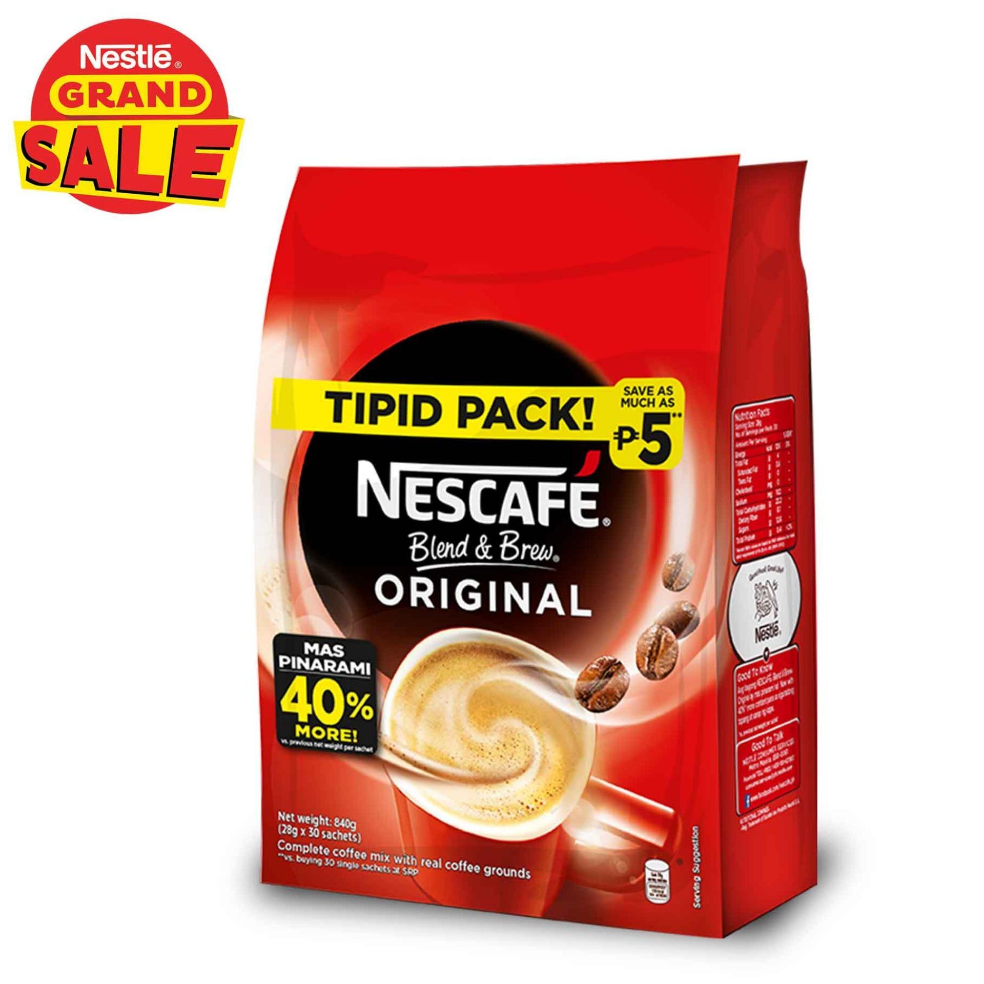NESCAFE Blend and Brew Original 28g (Pack of 30)