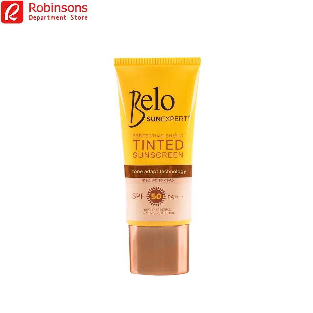 Belo Sun Expert Perfecting Shield Tinted Sunscreen Spf 50 50ml By Robinsons Department Store.