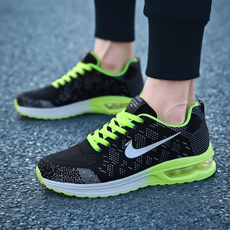 Men's Fashion Shoes Running Shoes Green
