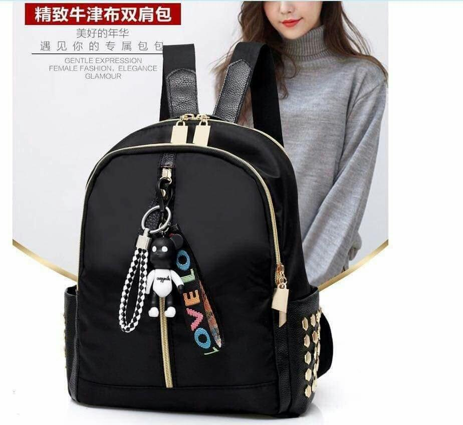 2019 Fashion Fashion Ribbon Womens Backpacks 2018 Leisure 4 Colors Backpacks For Adolescent Girls School Bags Travel Bag Mochila Hot Sell Men's Bags