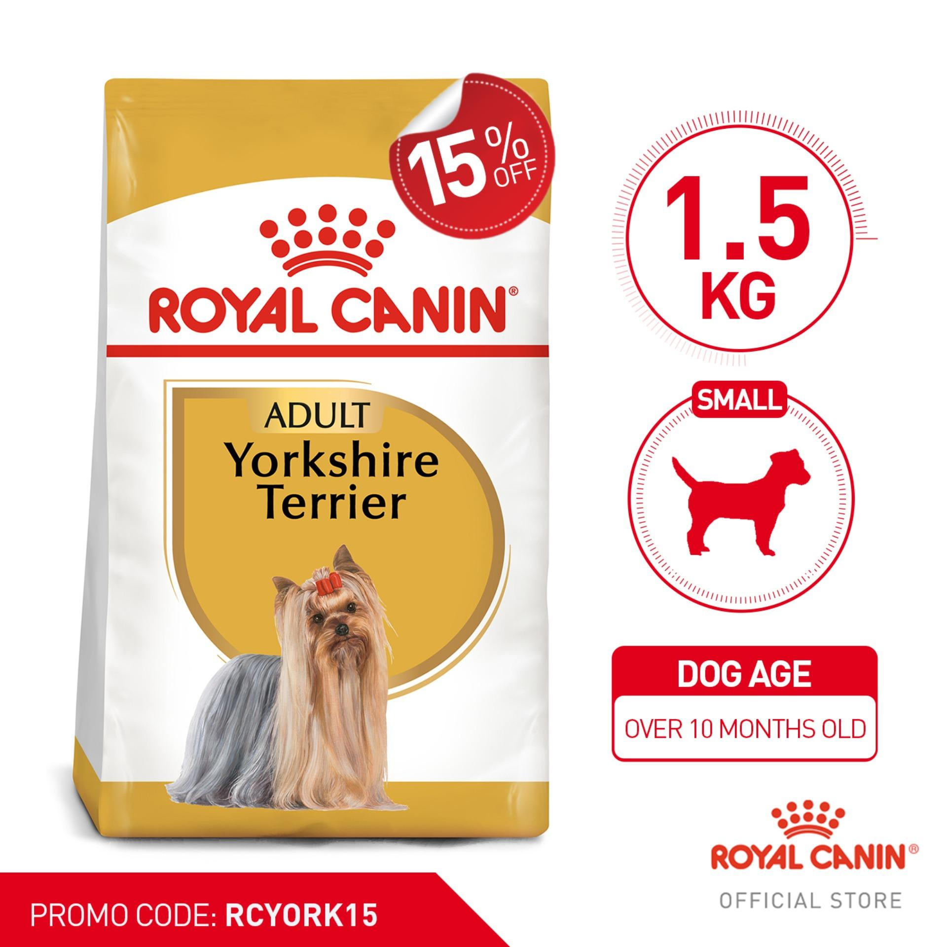 Royal Canin Yorkshire Adult 1 5kg - Breed Health Nutrition