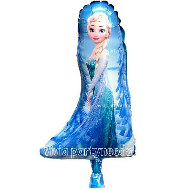 14inches Frozen Elsa Mini Foil Balloon By Ah K Asta Store.