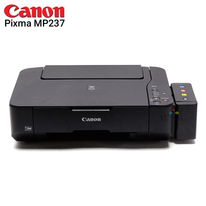 2b6196d56112 Canon Pixma MP237 Printer/Copier/Scanner with CISS and Elite Premium Inks  PLUS Additional