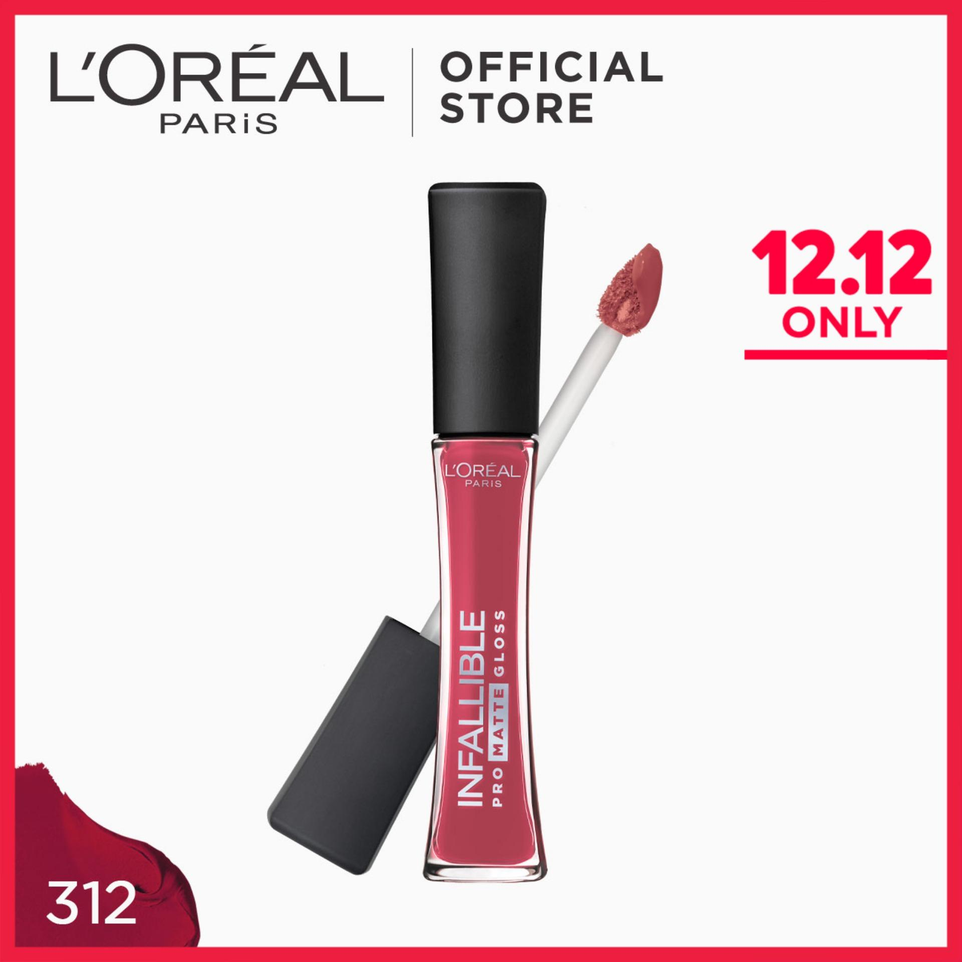 Infallible Pro-Matte Gloss Lip and Cheek Tint - Rouge Envy 312 by LOreal Paris Philippines
