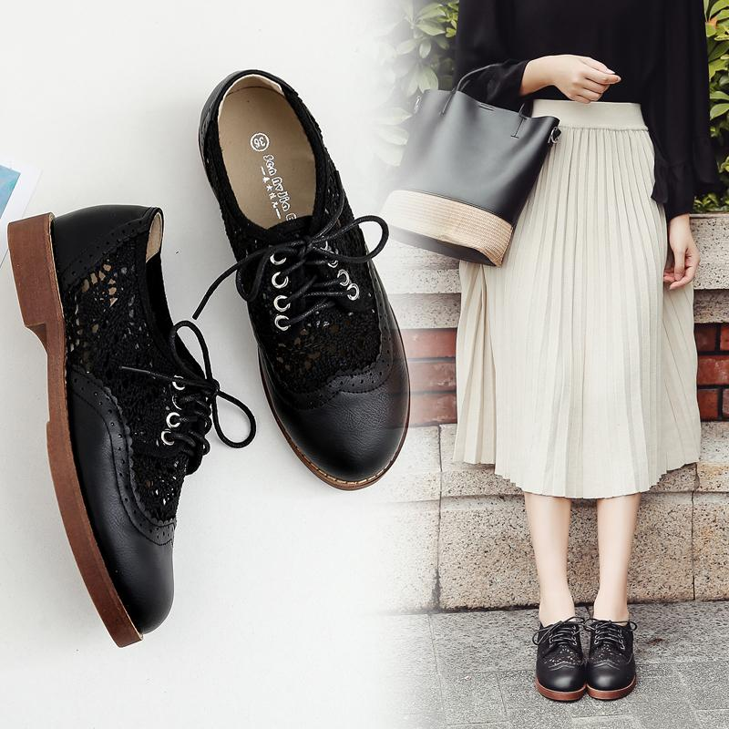 Mori Girl Shoes Flat Top Shoes | Lazada PH