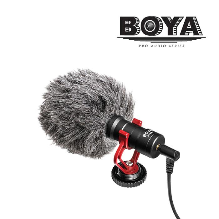 BOYA BY-MM1 MM1 Compact On-Camera Video Microphone Youtube Vlogging Rocording Mic For