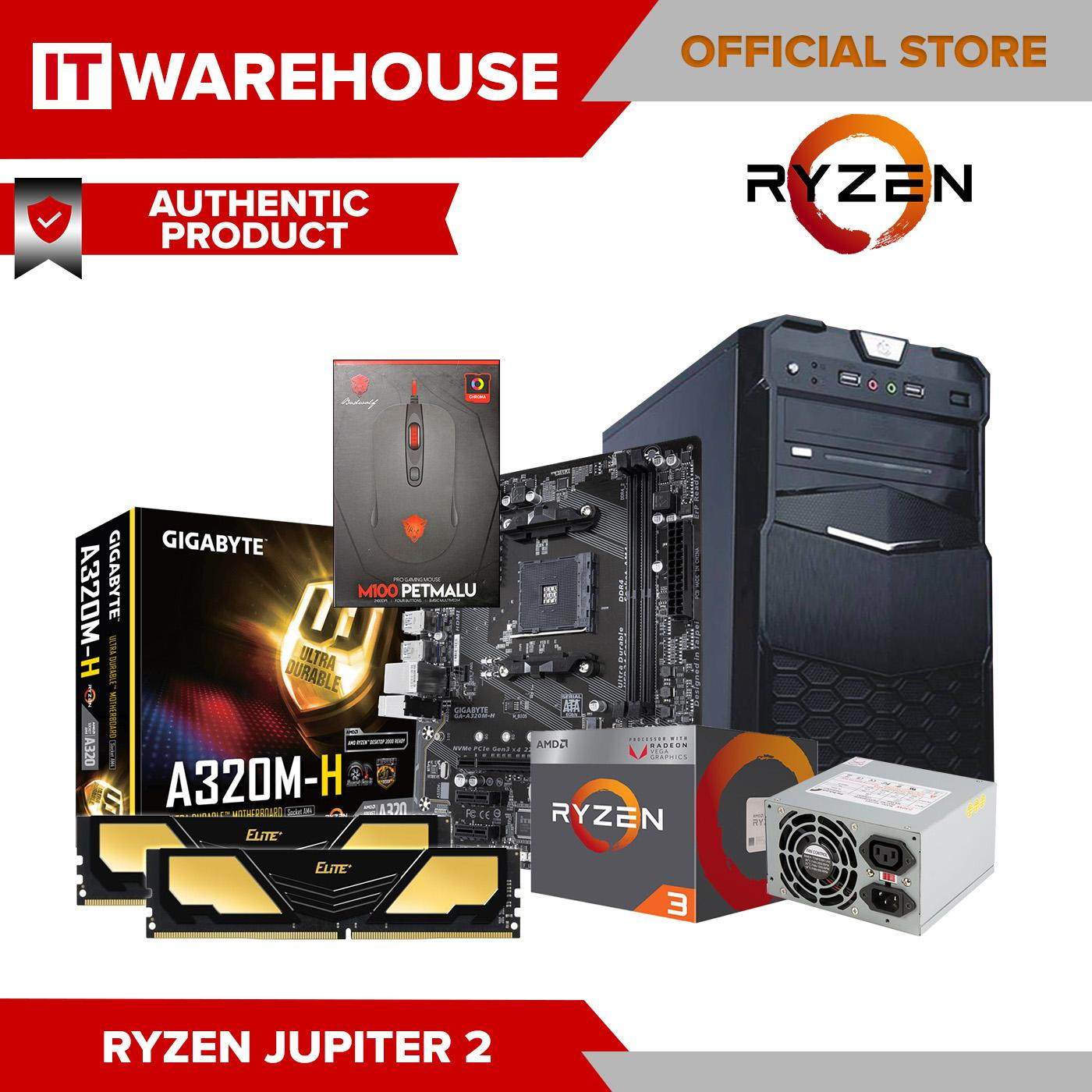 AMD Ryzen 3 2200G RYZ 3 VEGA JUPITER 2 Series Diskless System Quad-Core 3 5  GHz Socket AM4 65W with Radeon Vega 8 Graphics iGPU Desktop Processor