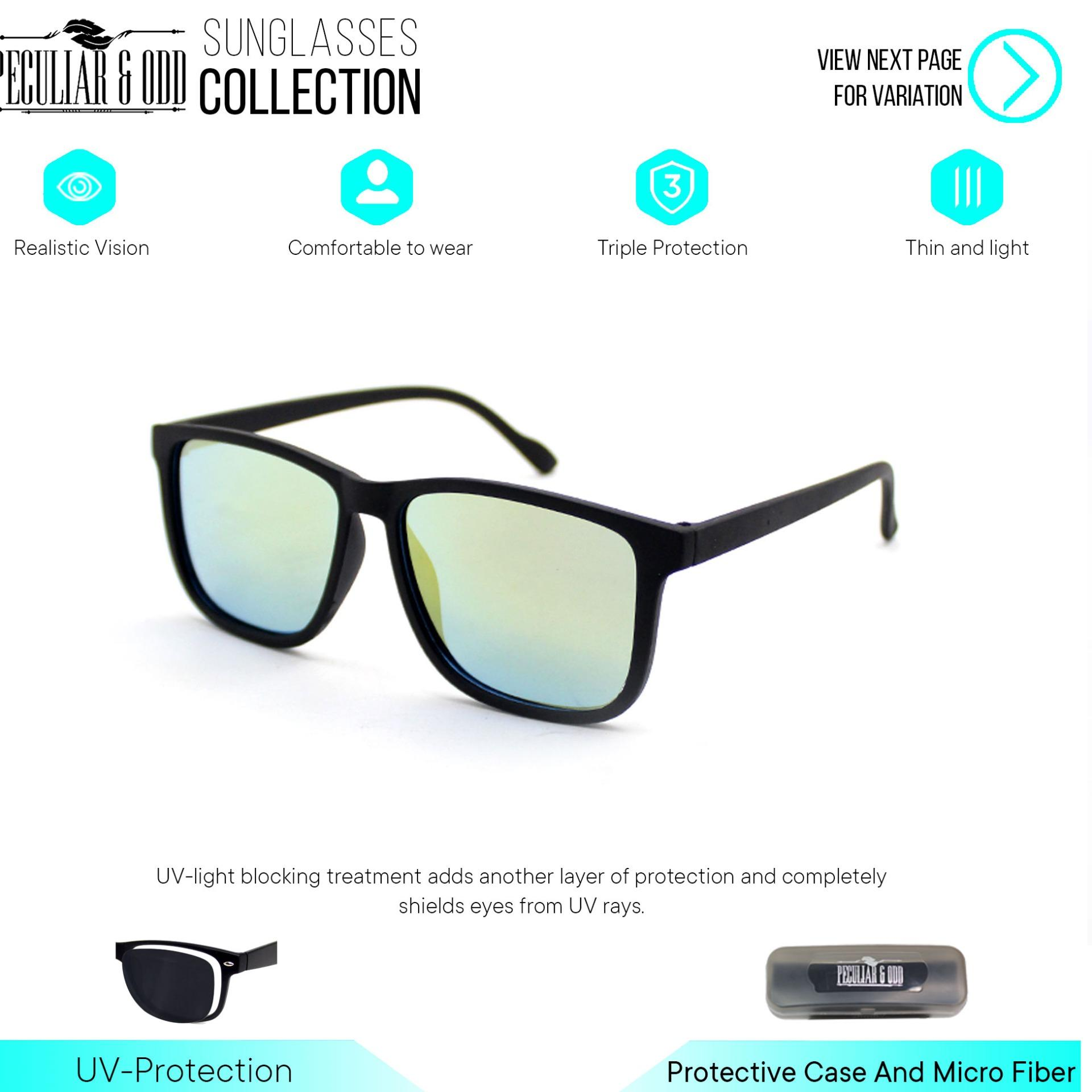 a0e49d994 Peculiar Oversized Square Classic Sunglass 3476 Unisex Eyewear Shades-  Peculiar and Odd Collection
