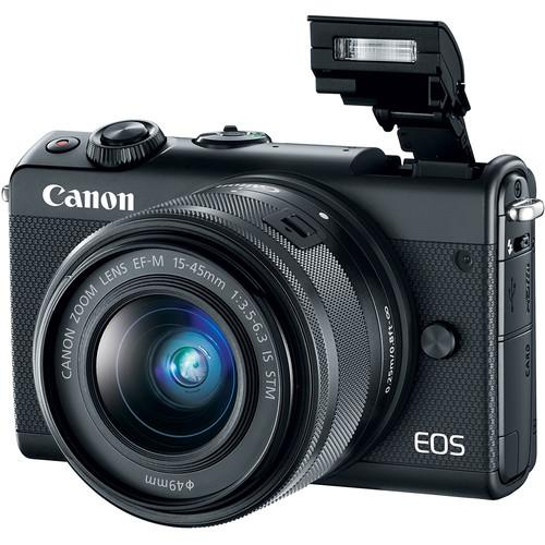 Canon Eos M100 With 15 45mm Lens