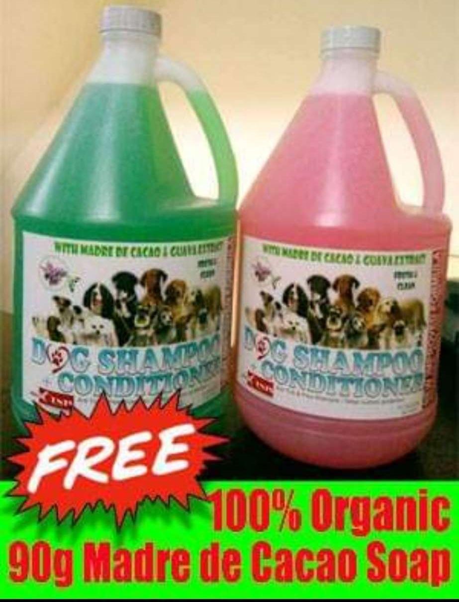 1 Gallon Madre De Cacao Dog Shampoo W/ Conditioner (free Soap) By Cyqueen0906.