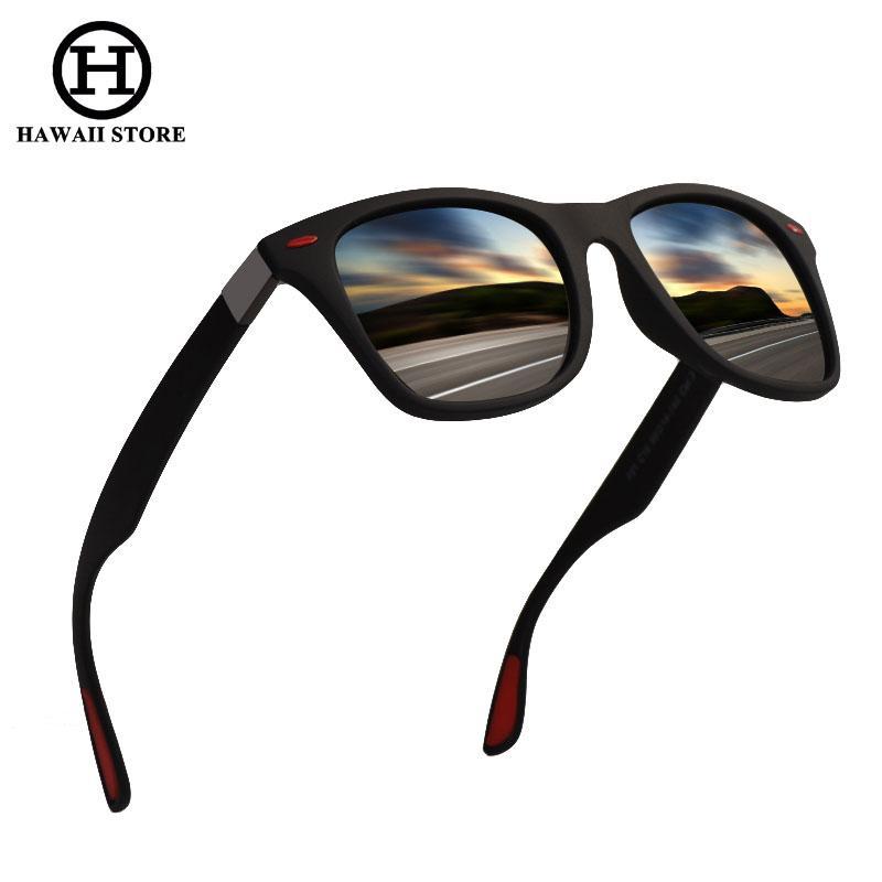 ae76f1d63a HAWAII Classic Polarized Sunglasses Men Women Driving TR90 Frame Sun  Glasses Male Goggles UV400 Gafas De