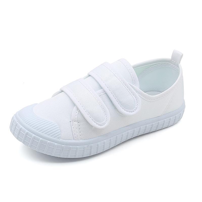 Sepatu Anak Sepatu Kain Putih Pria Dan Wanita Anak Sepatu Putih Kecil Tk Sepatu Pertunjukan Tarian Kampus Sepatu Anak-Anak Sepatu Siswa Sepatu Sepak Bola By Koleksi Taobao.