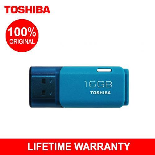 Toshiba Hayabusa 16GB USB 2.0 Flash Drive (Blue)