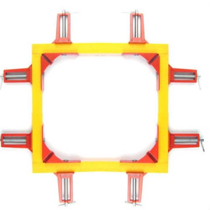 4Pcs 75mm 90°Degree Right Angle Picture Frame Corner Clamp Holder Woodworking Hand Kit