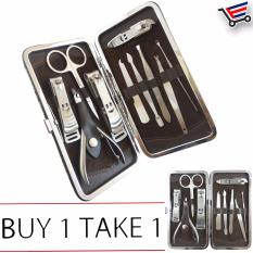 10 Pcs Stainless Steel Personal Nail Care Manicure/Pedicure Pocket Set  Buy 1 Take 1 Philippines