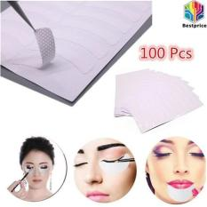 100 Pcs Eye Eyelash Extension Pads Stickers Patches Adhesive Tape Kit Tool - intl Philippines