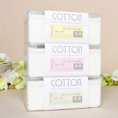 1000PCS/Box Cosmetic tool Make up Cotton Pads Facial & Eye Cleansing Puff Organic Cotton Swab Box Eye Cleansing Pads - intl Philippines