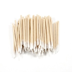 100PCs Cotton Swab Buds Sticks Mini Pointed for Tattoo Make Up Cosmetic Clean - intl Philippines