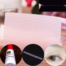 100pcs Double Eyelid Tapes Eyelid Stickers Invisible Fiber Cosmetic Tool - intl Philippines