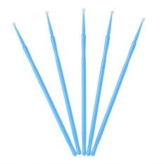 100PCS/Bag Women Disposable Durable Extension Brush Eyelash Glue Cleaning Stick(Blue) - intl Philippines