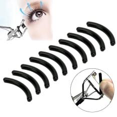 10Pcs Black Refill silicone Pad Make Up Tool Replacement Eyelash Curler pads - intl Philippines