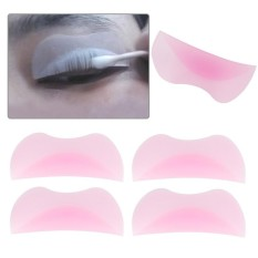 10Pcs Silicone Eyelash Extension Stand Pad Fake EyeLash Tray Holder Tool - intl Philippines