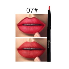 12 Colors Professional Automatic Rotation Makeup Waterproof Lip Liner Pencil - intl Philippines