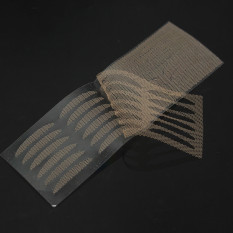 12 Pairs Invisible Lace Double Eyelid Stickers Technical Eye Talk Tape Tool M Slender - intl Philippines
