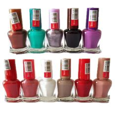 12 Pcs. Assorted Color Nail Polish 8mL Set 200g Philippines