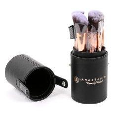 12Pc Make Up Brush Set in Hard PU Leather Tube Case Philippines